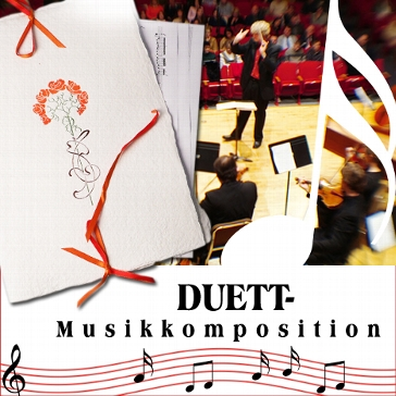 "Musikkomposition ""Duett"""
