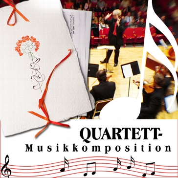 "Musikkomposition ""Quartett"""