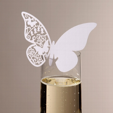 Namenskarte Schmetterling