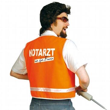 "Notarzt-Weste ""Dr. Love"" Gr. XL"