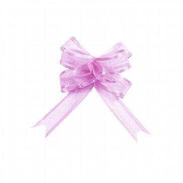 Organzaschleife Mini lavendel - zur Hochzeitsdekoration
