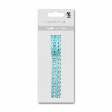 Papier-Bordüre Herz Sticker - DIY zur Hochzeit