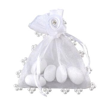 Gastgeschenk Athene perle in Weiß