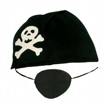 Piratenhaube inkl. Augenklappe