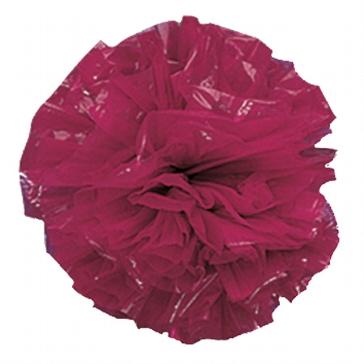 Plastic Pompoms, weinrot