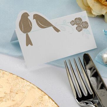 Platzkarten für Gästenamen Forever