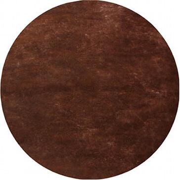 Platzset Kreis in braun für die Hochzeitsdeko