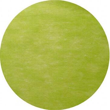 Platzset Kreis für die grüne Hochzeitsdeko