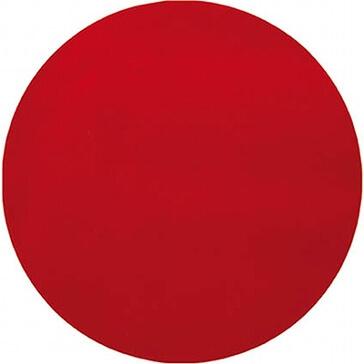 """Platzset """"Kreis"""" aus rotem Vlies für die Hochzeitdeko"""