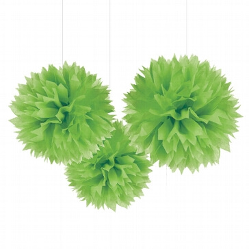 Pompoms Fluffy, grün