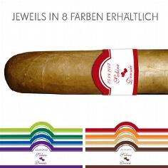 10 Zigarren m. persönlicher Banderole