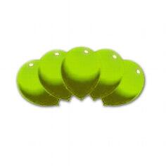100 Rundballons, 75 cm, limonengrün