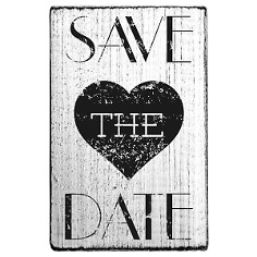 stempel save the date mit herz