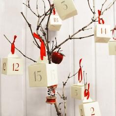 "DIY-Set Adventskalender ""Boxen"" zum Befüllen"