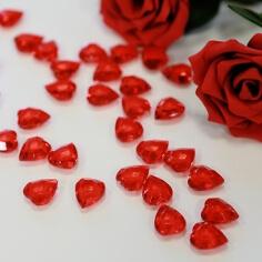Herzen in Rot