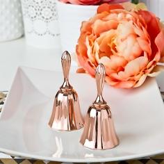 Gastgeschenk Tischglöckchen, roségold