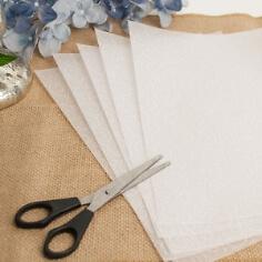 """5 Blatt Transparentpapier """"Barock"""", A4"""