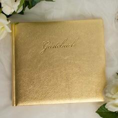 Gästebuch Prag, gold