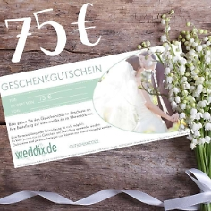 Geschenk-Gutschein im Wert von 75€