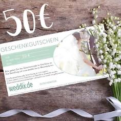 Geschenk-Gutschein im Wert von 50€