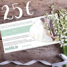 Geschenk-Gutschein im Wert von 25€