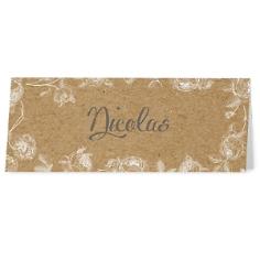 "Tischkarte ""Marcella"", 6 St., bedruckbar"