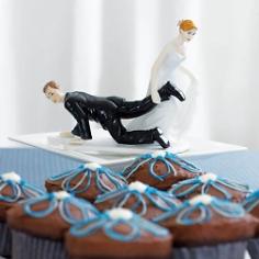 """Hochzeitsfigur """"Kein Zurück"""""""