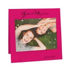 Fotokarte Mercedes, pink