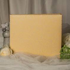Gästebuch Hochzeit Paisley, lemon