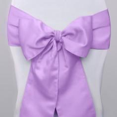 Stuhlschleifen Satin Lavendel