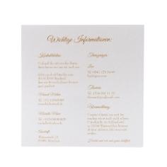 Einleger fuer Hochzeitseinladung 13,8 x 13,8 cm