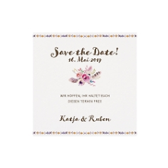 "Save-the-Date Karte ""Nicole"""