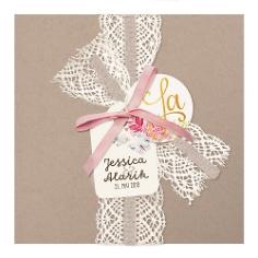 Einladungskarte Hochzeit Alexandra
