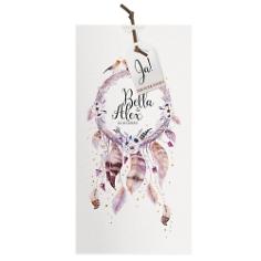 """Einladungskarte Hochzeit """"Bella"""" im Boho Stil"""