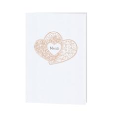 "Menükarte / Hochzeitskarte ""Fiona"""