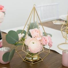 Kerzenhalter / Vase Diamant