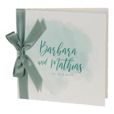 Hochzeitseinladung Leana, grün