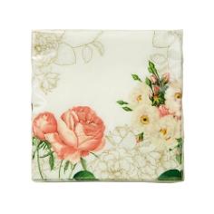 Servietten mit Blüten Muster