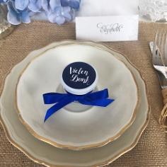 Gastgeschenk Thalia, königsblau