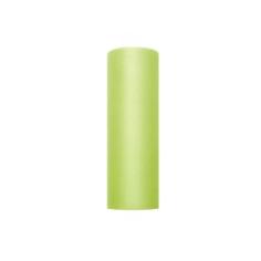 Tischläufer Tüll Hellgrün, 15 cm x 9 m