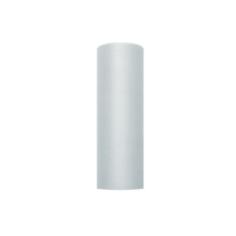 Tischläufer Tüll, grau, 15 cm x 9 m
