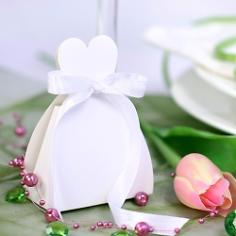 Gastgeschenk Schachtel Braut, 10 St., Deko