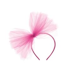 Haarreif Tüll, pink, freigestellt