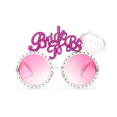 Brille Bride to Be, silber