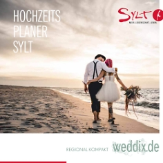 """Hochzeitsplaner regional """"Sylt"""""""