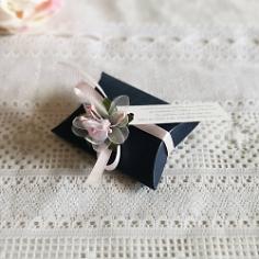 Gastgeschenk Eudora in Blau Rosa