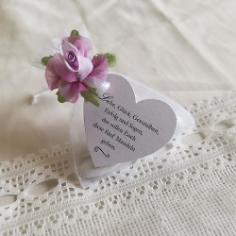 Gastgeschenk Thetis weiß violett