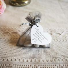 Gastgeschenk Säckchen in Silber