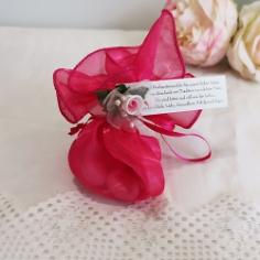Gastgeschenk Dione fuchsia rosa pink