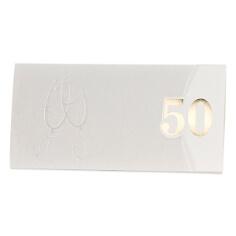 """Einladungskarte zur Goldenen Hochzeit """"Dora""""  Jubiläum 50 Jahre"""